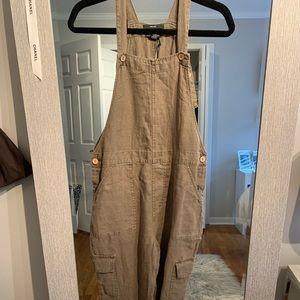 Linen overall's